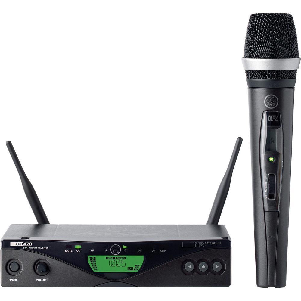 Νέα παραλαβή ασυρμάτων μικροφώνων χειρός AKG presenter 470
